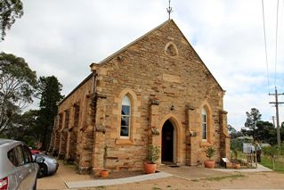 The beautiful Rylstone Uniting Church  in Rylstone