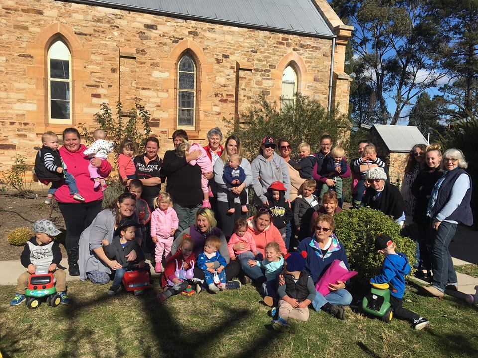 Rylstone Playgroup sharing their joy at being together, learning and playing each week.