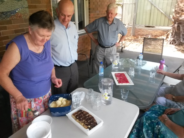 On 30 November 2014 our service was co-led by members of Castle Hill congregation. Lunch afterwards of course!